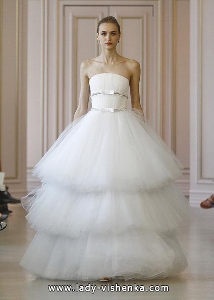 Пышные свадебные платья 2016 - Oscar De La Renta