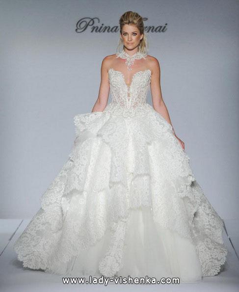 Пышные свадебные платья 2016 - Pnina Tornai