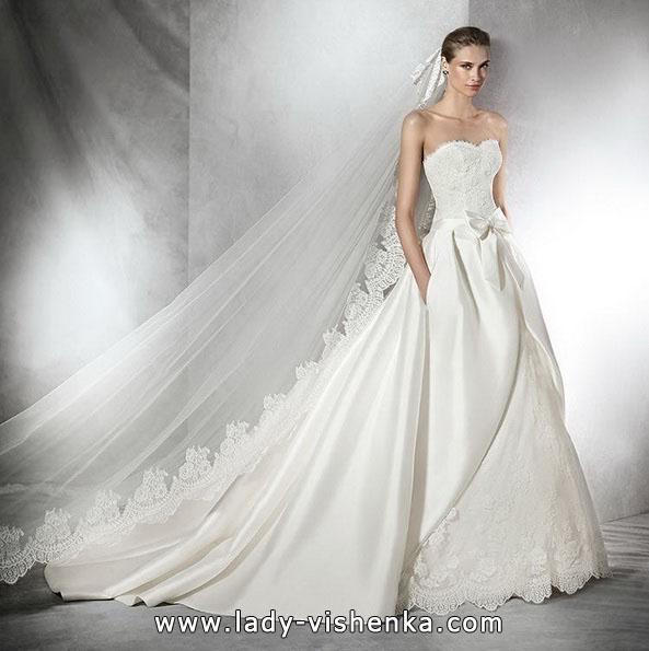 Свадебные платья пышные со шлейфом 2016 - Pronovias