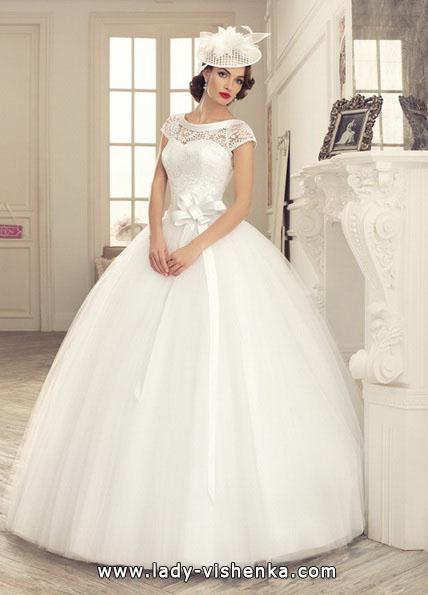 Длинное пышное свадебное платье 2016 - Tatiana Kaplun