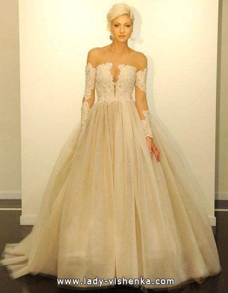 Свадебные платья 2016 пышные - Victor Harper
