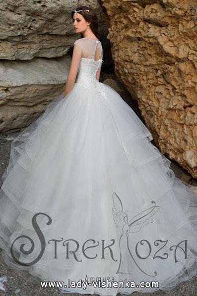 Длинное пышное свадебное платье 2016 - Strekoza