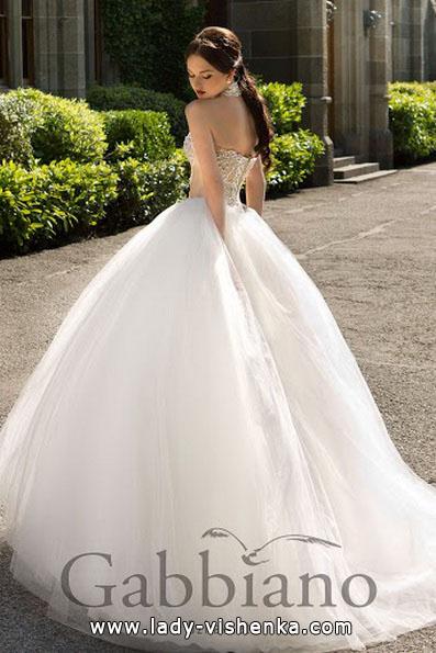 Свадебные платья 2016 пышные - Gabbiano
