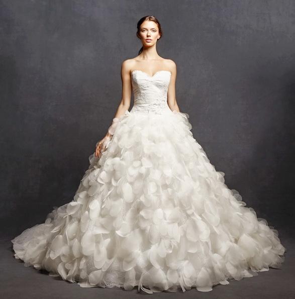 Красивые пышные свадебные платья 2016 - Isabelle Armstrong