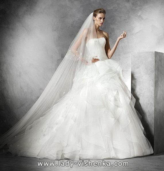 Пышные свадебные платья 2016 - Pronovias
