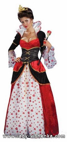 Королева Червей на Хэллоуин