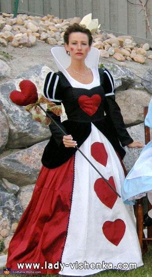 Длинное платье Королевы Червей