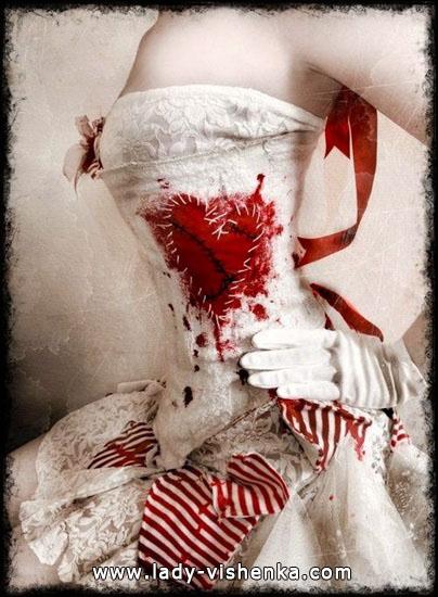 Оригинальное платье Королевы Червей на Хэллоуин