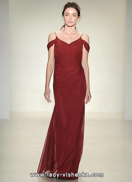 Красное свадебное платье 2016 - Kelly Faetanini
