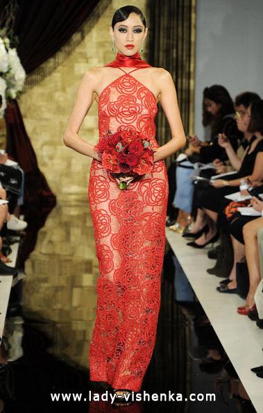 Свадебные платья красного цвета - Theia
