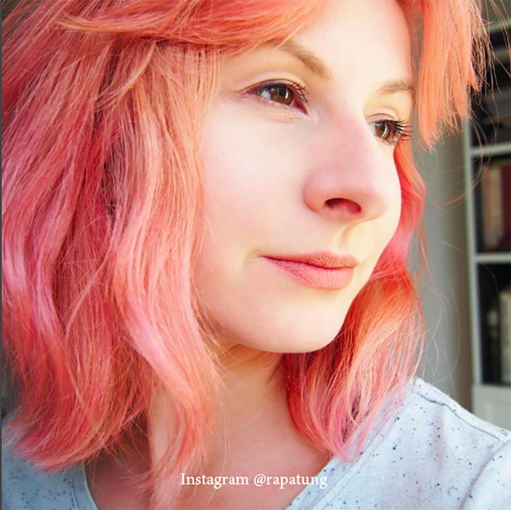 11. Цвет волос - розовое дерево