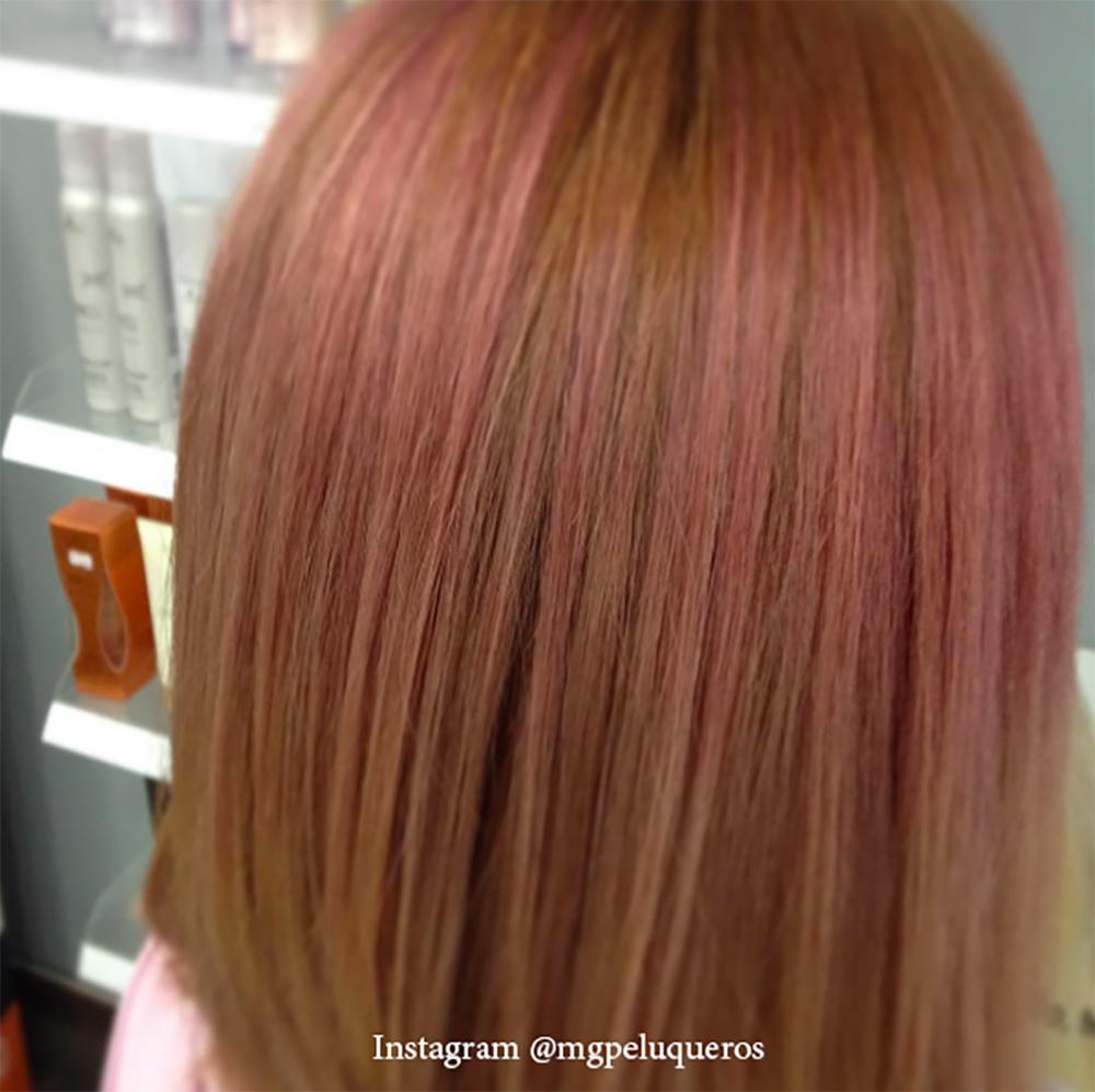 12. Цвет волос - розовое дерево
