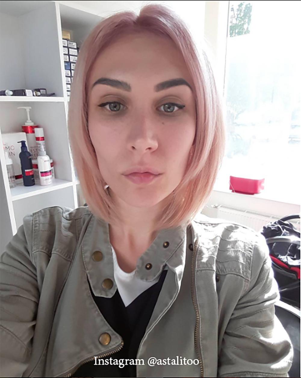 14. Цвет волос - розовое дерево