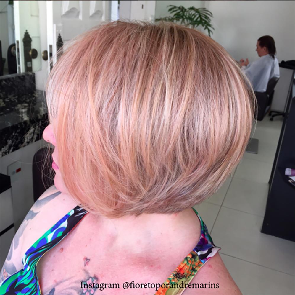 17. Цвет волос - розовое дерево