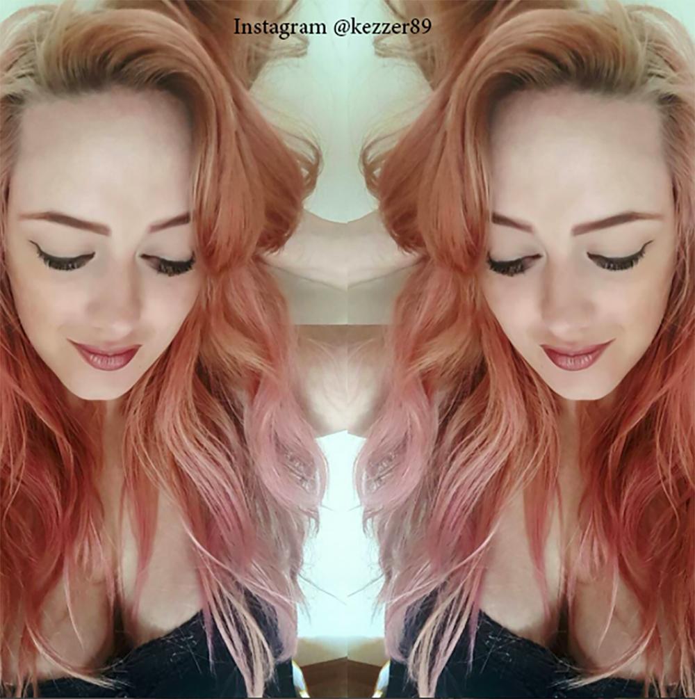 4. Цвет волос - розовое дерево