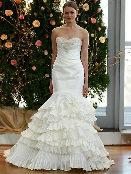 Атласное свадебное платье - русалочка - Isabelle Armstrong