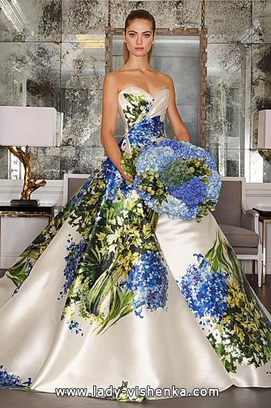 Атласные свадебные платья 2016 фото - Romona Keveza