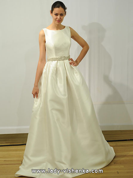 Атласные свадебные платья 2016 - Rosa Clara