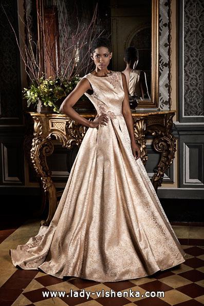 Атласные свадебные платья 2016 - Jordi Dalmau