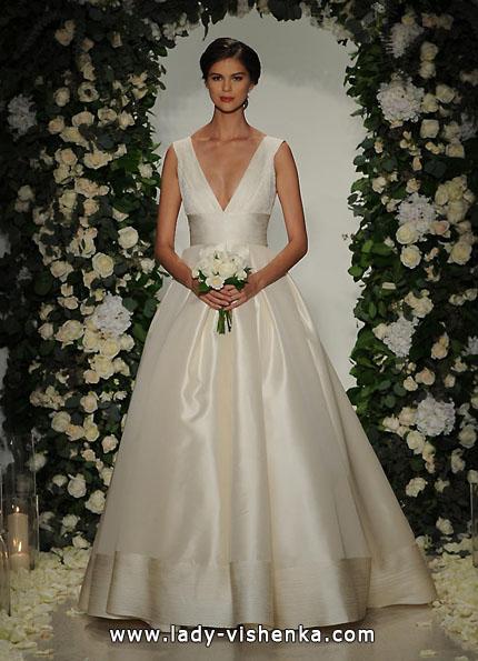 Атласные свадебные платья 2016 - Anne Barge