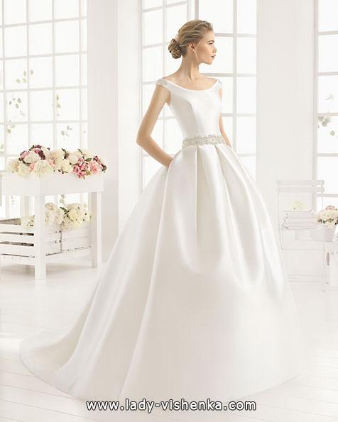 Атласные свадебные платья 2016 - Aire Barcelona