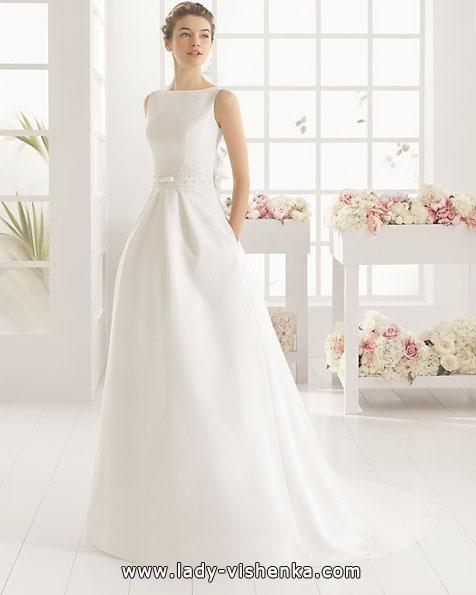 Свадебное платье из атласа 2016 - Aire Barcelona