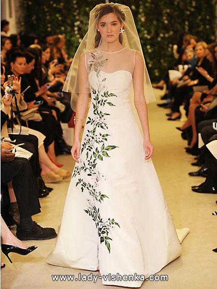 Атласные свадебные платья 2016 - Атласные свадебные платья 2016 - Carolina Herrera