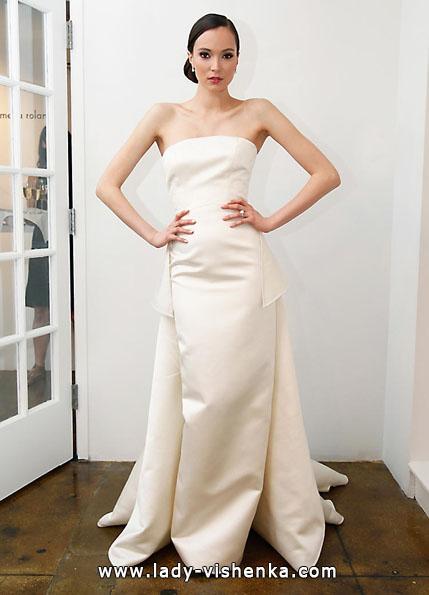 Атласные свадебные платья 2016 - Pamella Roland