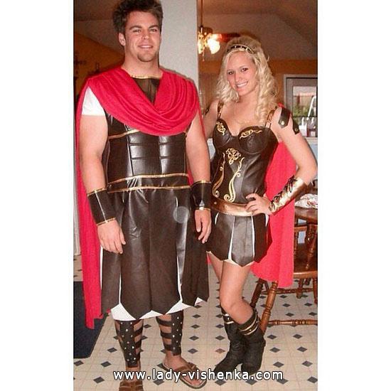 Гладиаторы - секси костюм для пары