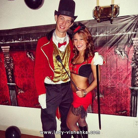 Цирковой костюм для пары на Хэллоуин