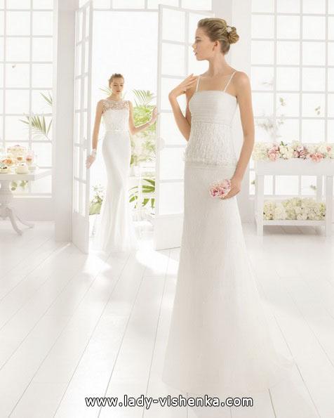 Прямое свадебное платье 2016 - Aire Barcelona