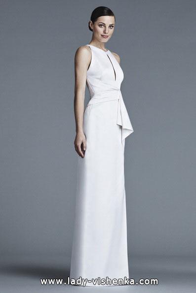 Прямые свадебные платья фото 2016 - J Mendel
