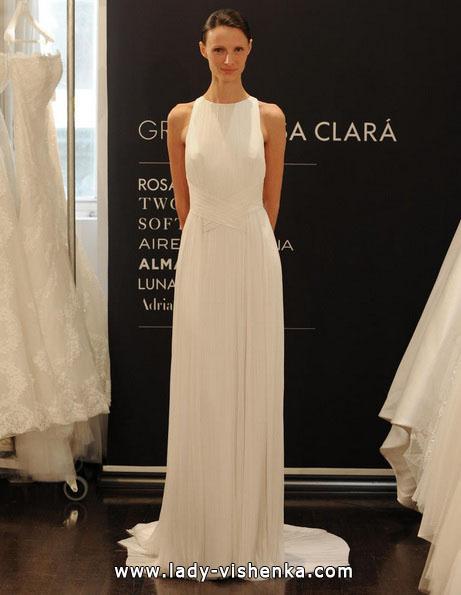 Прямые свадебные платья 2016 - Rosa Clará