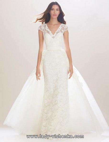 Прямое свадебное платье 2016 - Carolina Herrera