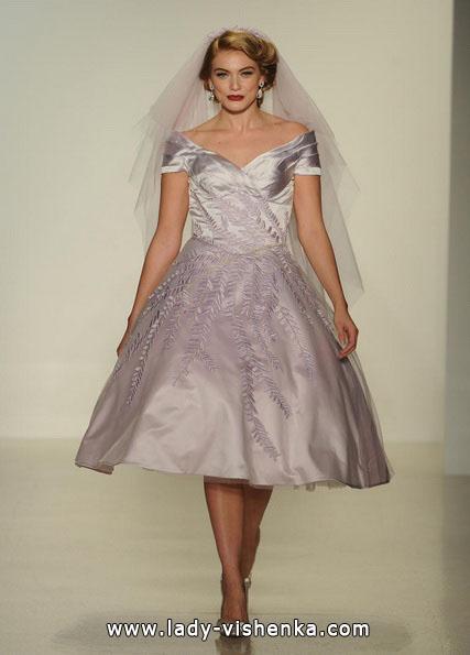Короткие пышные свадебные платья 2016 - Matthew Christopher