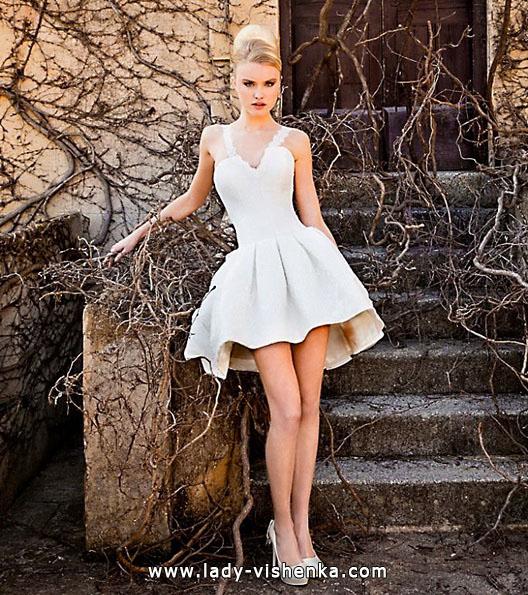 Короткие пышные свадебные платья 2016 - Jordi Dalmau