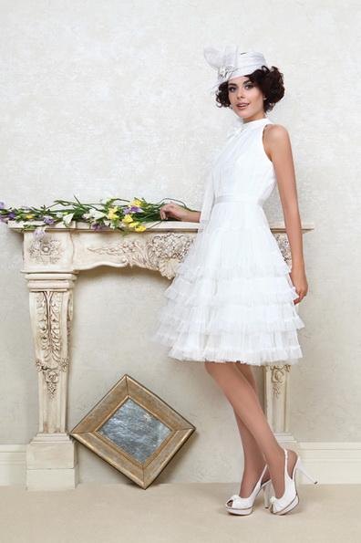 Короткие пышные свадебные платья фото 2016 - Tatiana Kaplun