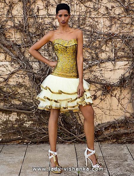 Короткое свадебное платье с пышной юбкой 2016 - Jordi Dalmau