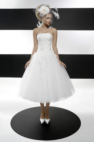Пышное свадебное платье длины 3/4 2016 - Tatiana Kaplun