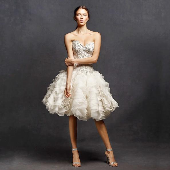 Короткие пышные свадебные платья 2016 - Isabelle Armstrong
