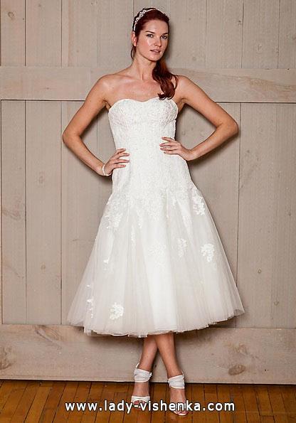 Короткие пышные свадебные платья 2016 - David's Bridal