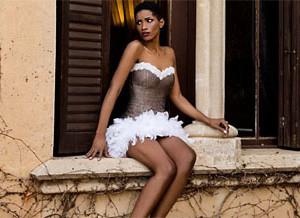 Короткие пышные свадебные платья 2016