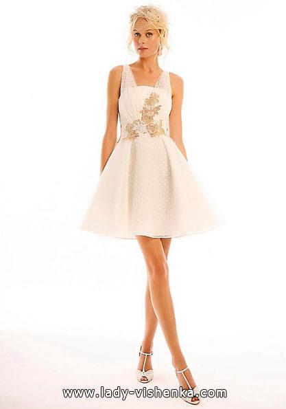 Короткие свадебные платья 2016 - Eugenia Couture