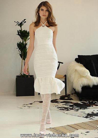 Свадебное платье длиной 3/4 - Houghton