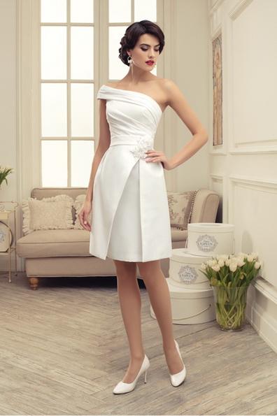 Красивое короткое свадебное платье 2016 - Tatiana Kaplun