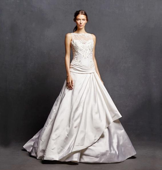 Простое свадебное платье 2016 - Isabelle Armstrong