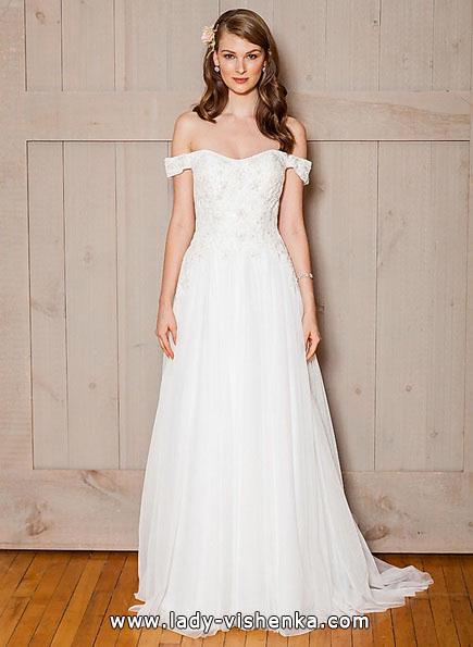Простое свадебное платье 2016 - David's Bridal