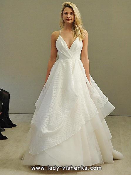 Простое свадебное платье 2016 - Hayley Paige