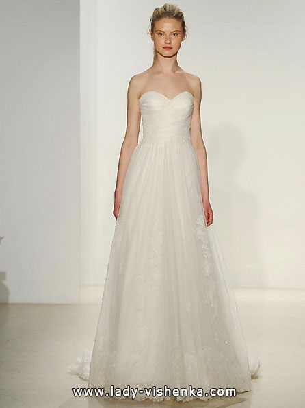 Простое свадебное платье 2016 - Kelly Faetanini