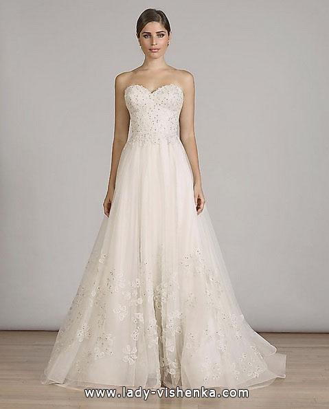 Простое свадебное платье 2016 - Liancarlo